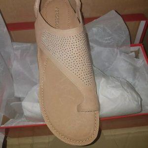 Aerosoles suede sandals Handbook